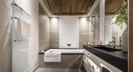 Vacances en montagne Résidence le Cristal de Jade - Chamonix - Salle de bains