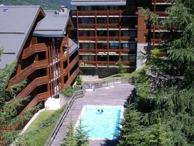 Location au ski Residence Le Cristal - Méribel - Extérieur été