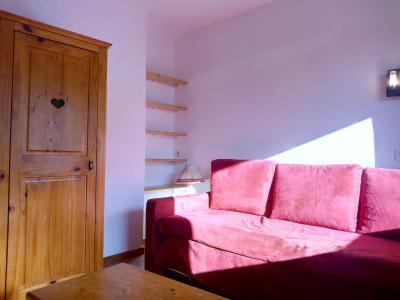 Vacances en montagne Studio 4 personnes (077) - Résidence le Dandy - Méribel-Mottaret - Banquette