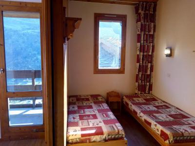 Vacances en montagne Studio 4 personnes (077) - Résidence le Dandy - Méribel-Mottaret - Banquette-lit
