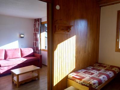Vacances en montagne Studio 4 personnes (077) - Résidence le Dandy - Méribel-Mottaret - Canapé-lit