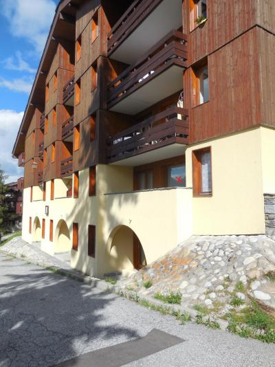Location au ski Appartement 2 pièces 5 personnes (007) - Résidence le Dé 1 - Montchavin La Plagne - Extérieur été