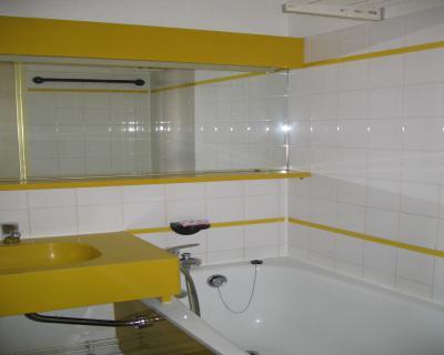 Vacances en montagne Studio coin montagne 4 personnes (202) - Résidence le Dé 3 - Montchavin La Plagne - Salle de bains