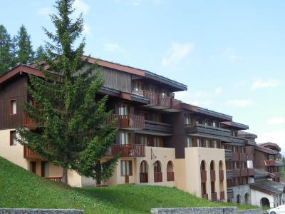 Vacances en montagne Résidence le Dé 4 - Montchavin La Plagne - Extérieur été