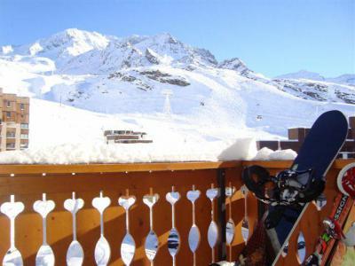 Vacances en montagne Studio 3 personnes (408) - Résidence le Dôme de Polset - Val Thorens - Table