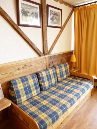 Vacances en montagne Studio 3 personnes (607) - Résidence le Dôme de Polset - Val Thorens - Canapé