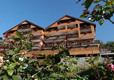 Location au ski Residence Le Dome Des Rousses - Vaujany - Extérieur été