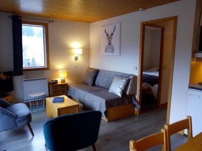 Vacances en montagne Appartement 3 pièces 6 personnes (003) - Résidence le Florilège - Méribel-Mottaret - Séjour