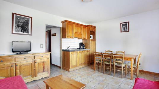 Urlaub in den Bergen Résidence le Front de Neige - Les Carroz - Küche