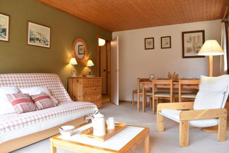 Holiday in mountain resort 2 room apartment 3-5 people (13) - Résidence le Genèvrier - Méribel - Living room