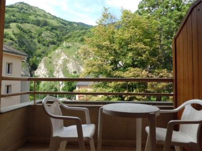 Location au ski Studio 2 personnes (223) - Residence Le Grand Chalet - Brides Les Bains - Extérieur été