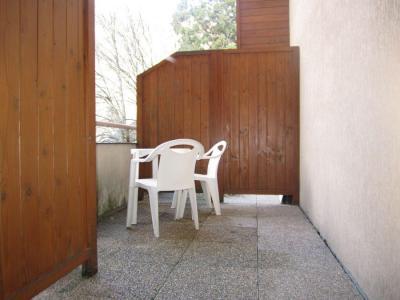 Vacances en montagne Studio 4 personnes (220) - Résidence le Grand Chalet - Brides Les Bains - Balcon