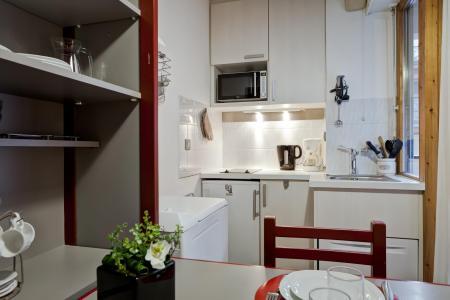 Vacances en montagne Studio coin montagne 4 personnes (210) - Résidence le Grand Chalet - Brides Les Bains - Cuisine