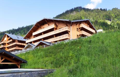 Vacances en montagne Résidence le Grand Ermitage - Châtel - Extérieur été