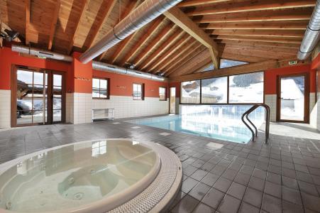 Vacances en montagne Résidence le Grand Lodge - Châtel - Jacuzzi