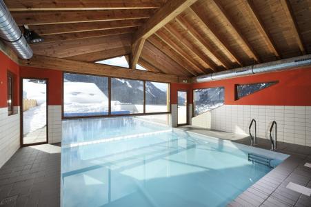 Vacances en montagne Résidence le Grand Lodge - Châtel - Piscine