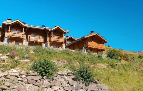Vacances en montagne Résidence le Grand Panorama 1 - Valmeinier - Extérieur été
