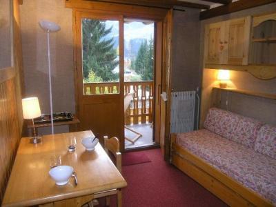 Vacances en montagne Studio 4 personnes (108) - Résidence le Grand-Sud - Méribel - Banquette