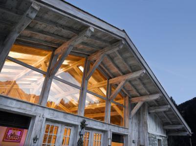 Location au ski Résidence le Hameau de Pierre Blanche - Les Houches - Extérieur été