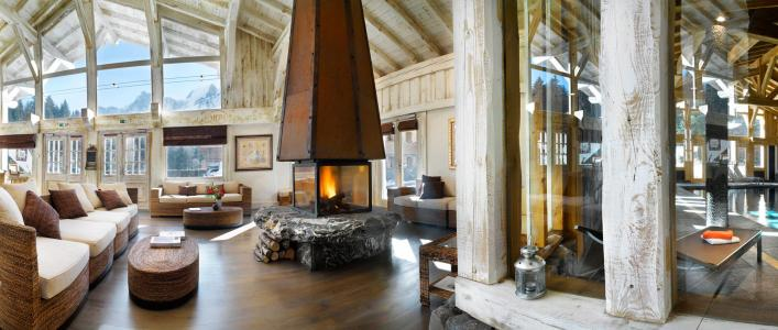 Vacances en montagne Résidence le Hameau de Pierre Blanche - Les Houches - Réception