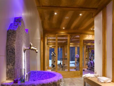 Vacances en montagne Résidence le Hameau de Pierre Blanche - Les Houches - Espace fitness