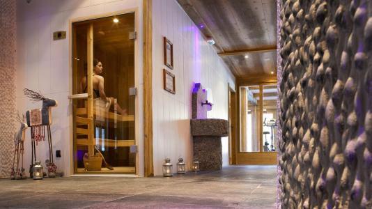 Vacances en montagne Résidence le Hameau de Pierre Blanche - Les Houches - Sauna