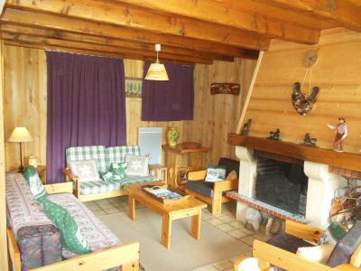 Vakantie in de bergen Chalet 4 kamers 8 personen (A012P) - Résidence le Hameau des Rochers - Champagny-en-Vanoise - Woonkamer