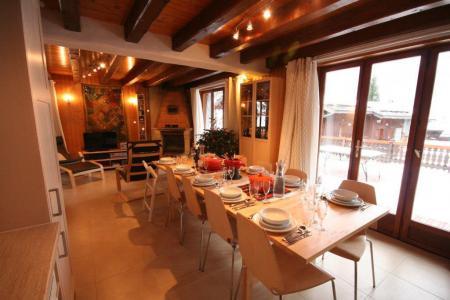 Vacances en montagne Chalet 7 pièces 12 personnes (IsardCH) - Résidence le Hameau des Rochers - Champagny-en-Vanoise - Table