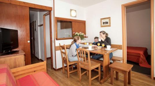 Vacances en montagne Résidence le Hameau du Borsat - Tignes - Coin repas