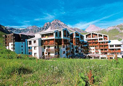 Location au ski Residence Le Hameau Du Borsat - Tignes - Extérieur été