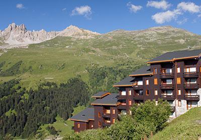 Location au ski Residence Le Hameau Du Mottaret - Mottaret - Extérieur été