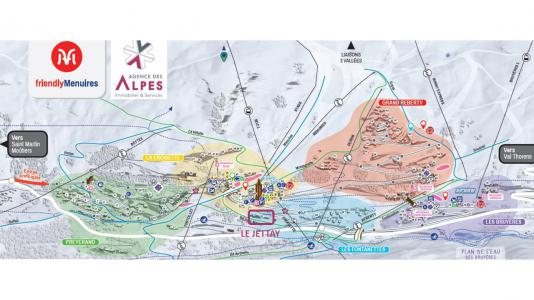 Vacances en montagne Résidence le Jettay - Les Menuires