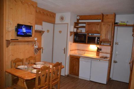 Vacances en montagne Appartement 1 pièces 4 personnes (B77) - Résidence le Jettay - Les Menuires - Kitchenette