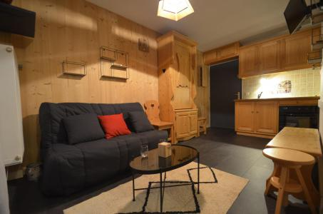 Vacances en montagne Studio coin montagne 4 personnes (B27) - Résidence le Jettay - Les Menuires - Séjour