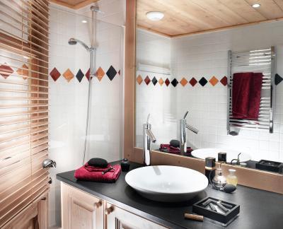 Vacances en montagne Résidence le Jhana - Tignes - Salle de bains