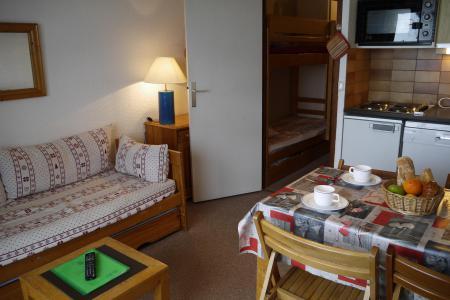 Vacances en montagne Studio 4 personnes (E01) - Résidence le Lac Blanc - Méribel-Mottaret - Séjour