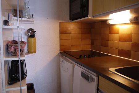 Vacances en montagne Studio mezzanine 4 personnes (F07) - Résidence le Lac Blanc - Méribel-Mottaret - Kitchenette