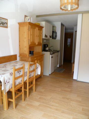 Vacances en montagne Appartement 2 pièces 4 personnes (202) - Résidence le Linga - Châtel - Table