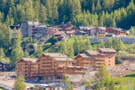 Location au ski Résidence le Lodge des Neiges C - Tignes - Extérieur été