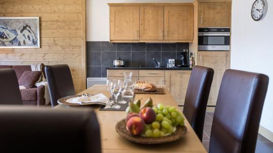 Vacances en montagne Résidence le Lodge Hemera - La Rosière - Salle à manger
