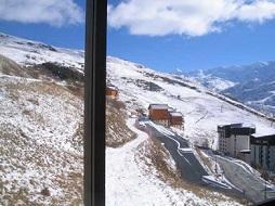 Holiday in mountain resort Studio sleeping corner 3 people (111) - Résidence le Median - Les Menuires