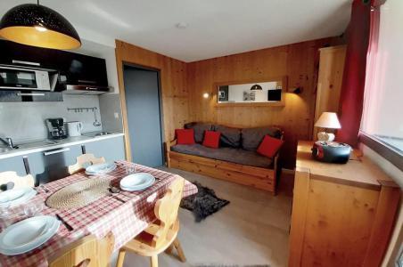 Vacances en montagne Studio coin montagne 3 personnes (125) - Résidence le Median - Les Menuires