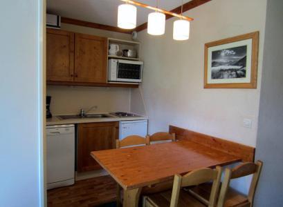 Vacances en montagne Appartement 2 pièces 4 personnes (302) - Résidence le Median - Les Menuires - Coin repas