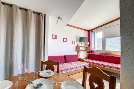 Holiday in mountain resort Studio sleeping corner 4 people (715) - Résidence le Median - Les Menuires - Living room