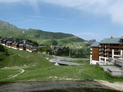 Vacances en montagne Appartement 3 pièces 7 personnes (101) - Résidence le Montsoleil - La Plagne - Extérieur été