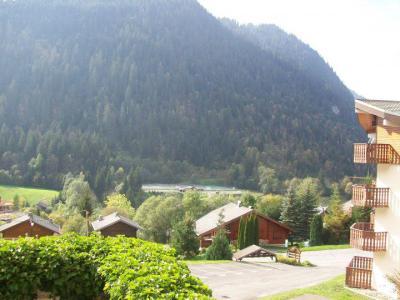 Rent in ski resort Studio sleeping corner 3 people (4) - Résidence le Mouflon - les Jonquilles - Châtel - Summer outside