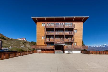 Vacances en montagne Appartement 2 pièces 4 personnes (21) - Résidence le Mustag - La Plagne - Extérieur été