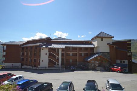 Location au ski Résidence le Nécou - Les Menuires - Extérieur été