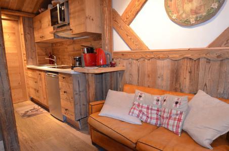 Vacances en montagne Studio coin montagne 3 personnes (717) - Résidence le Nécou - Les Menuires