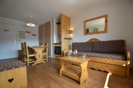 Vacances en montagne Appartement 2 pièces 4 personnes (611) - Résidence le Nécou - Les Menuires - Séjour